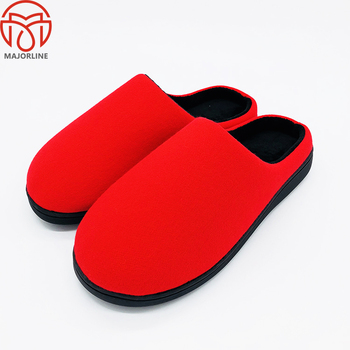 Wholesale personalized coral fleece woman home indoor winter slipper