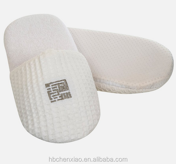 Luxury Washable bedroom sponge Waffle Slippers