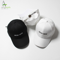 High Quality Baseball Cap Promotional Embroidery Black Custom Sport Baseball Cap