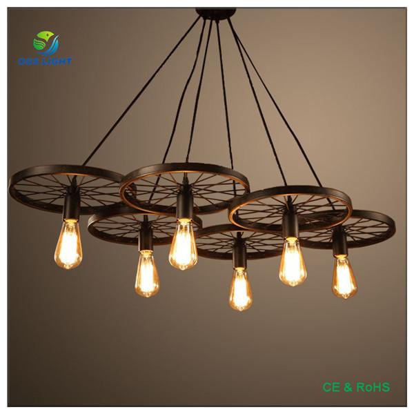 Single Light 3 Lights 6 Lights Metal Ceiling Pendant Light