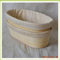 Natural color Rattan Proofing bannaton BANNETON Baskets With Liners