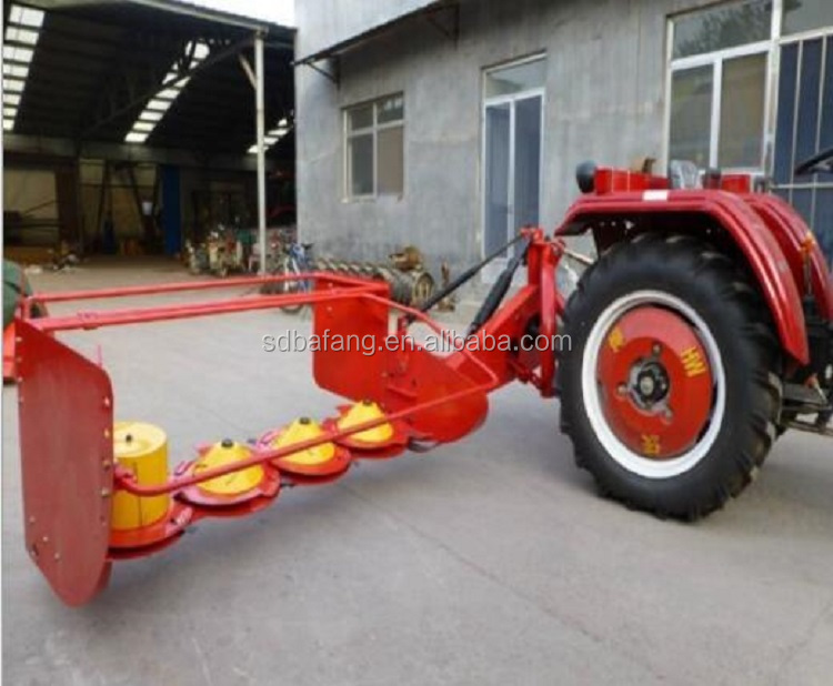 Factory supply hay disc drum mower
