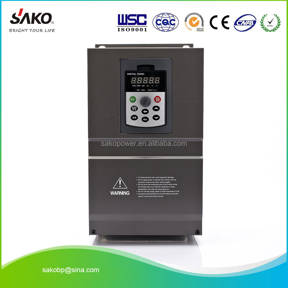 90KW Vector Frequency Inverter of 380V Triple (3) Phase