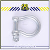 OEM Manufacture lifting anchor shackle , stainless steel shackle