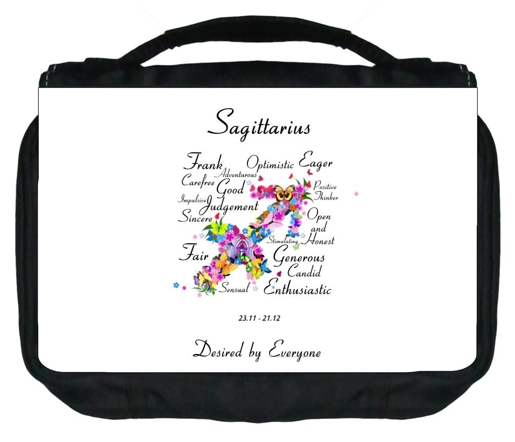 Jacks Outlet Zodiac Sagittarius Traits Gym Bag