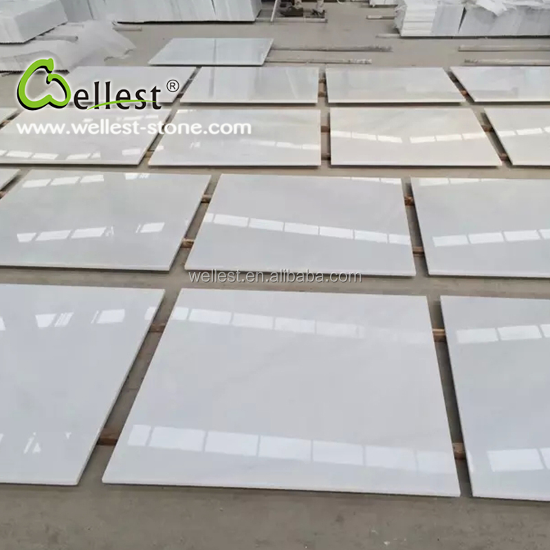 China Pure White Marble Tiles Manufacturers And Suppliers On Alibaba