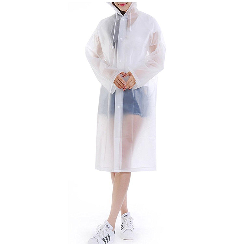 d2378c08542 Get Quotations · Raincoat Women Suit Rain Coat Outdoor Women Hood  Motorcycle Raincoat Camping Fishing Rain Gear Poncho
