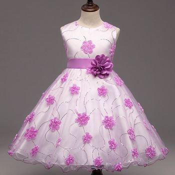 Dress Gowns 8 Years Old Girl Little Princess Wholesale Frozen Elsa ...