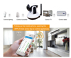 Multi-function switch function video monitor burglar alarm remote real-time viewing wireless security cameram system mobil