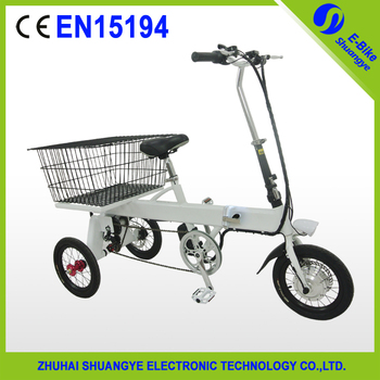 Chinese Hot Folding Electric Tricycle 3 Wheel Bicycle