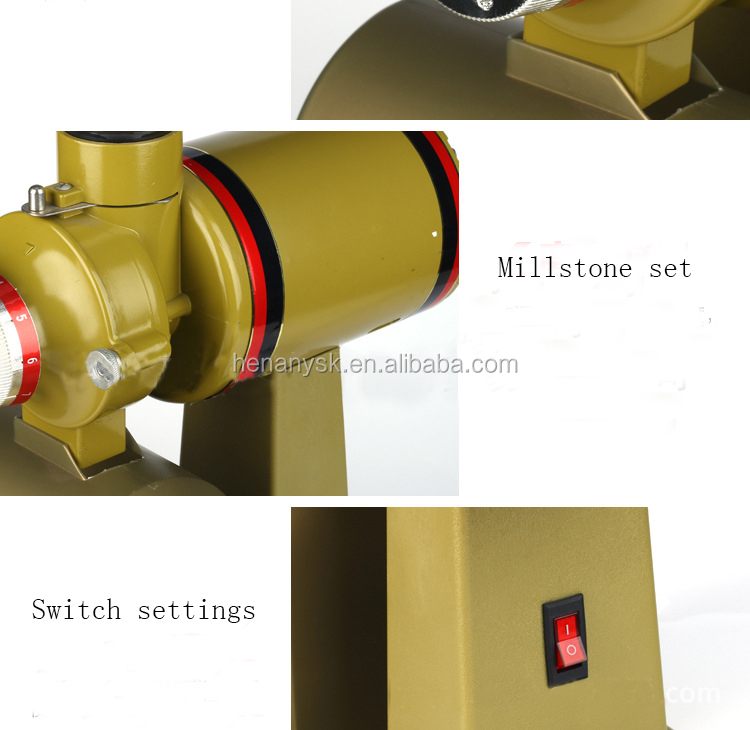 IS-002564 Commercial Electric Coffee Grinder Italian Semi-Automatic Coffee Grinding Machine