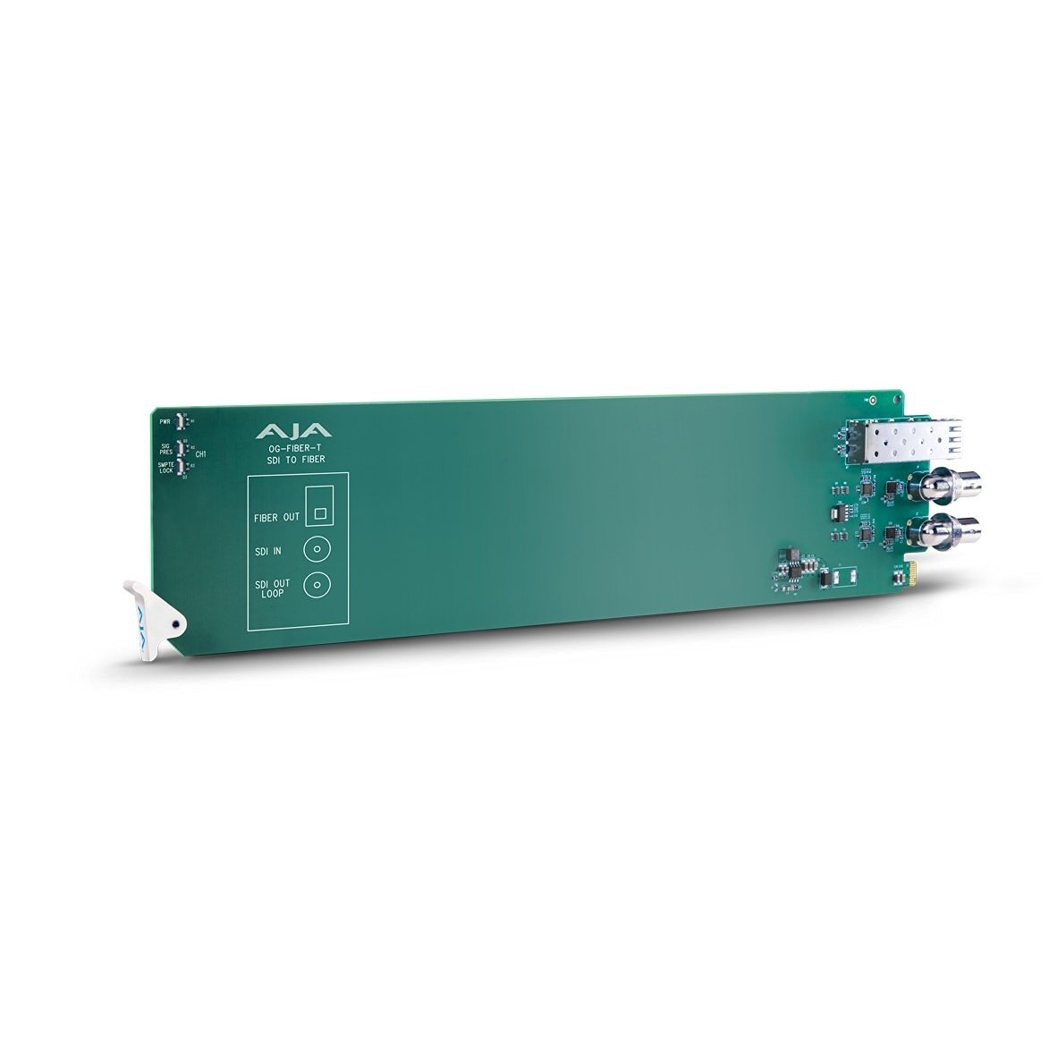 AJA openGear 1-channel SDI to Fiber Converter (OG-FIBER-T)