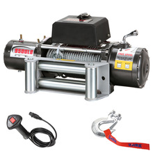 9500lbs pull 12v electric power resource high speed winch