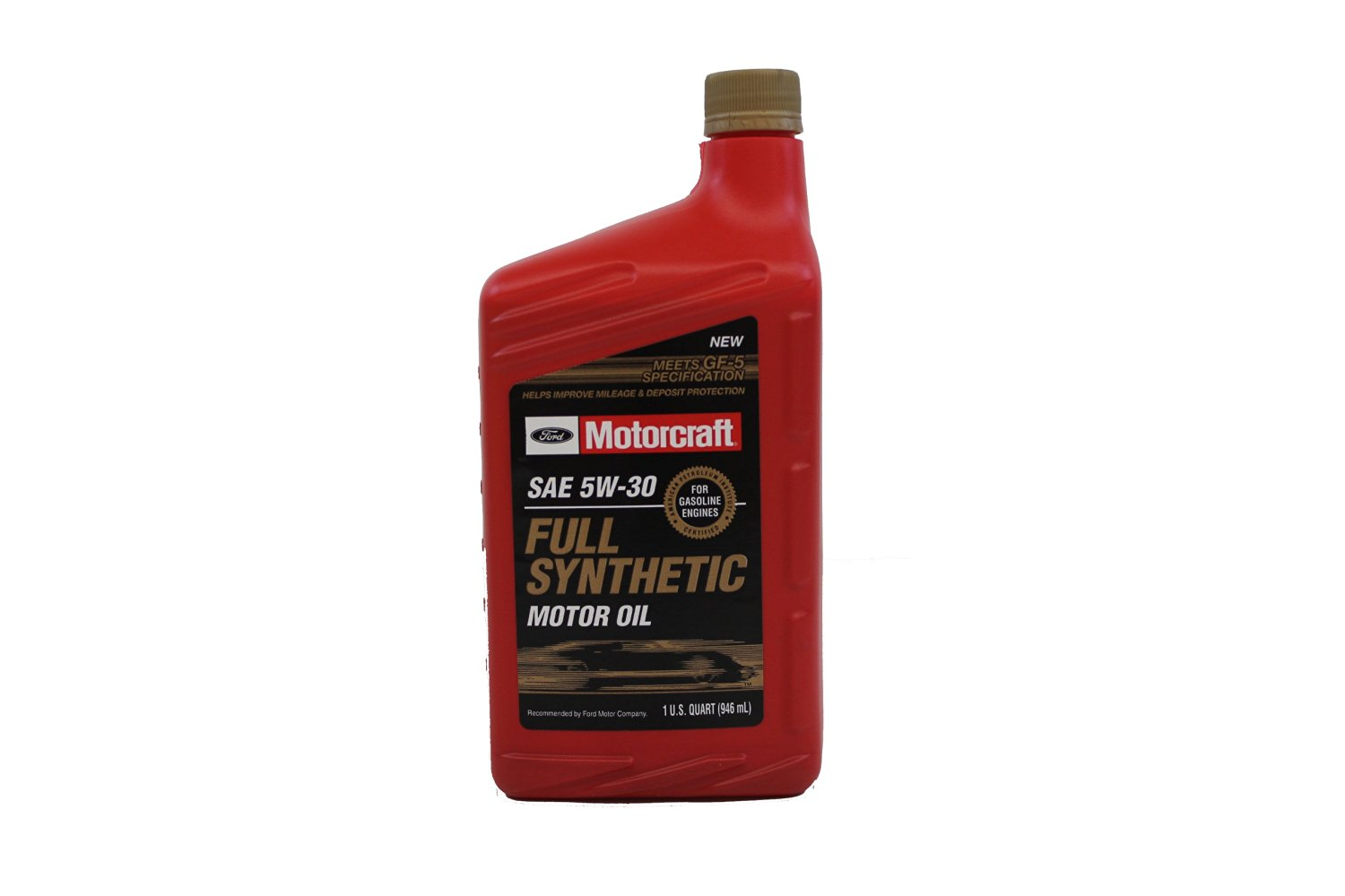 Genuine Ford Fluid XO-5W30-QFS SAE 5W-30 Full Synthetic Motor Oil - 1 Quart Bottle