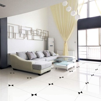 Super White Polished Porcelain Floor Tile Tiles Nano Product On