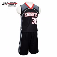 Customized Logo Printing Wholesale 2017 Sport Basketball Jersey Reversible Men's College Basketball Uniform Designs