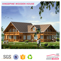 Low Cost prefabricated wood garden House easy assembly Projects real estate