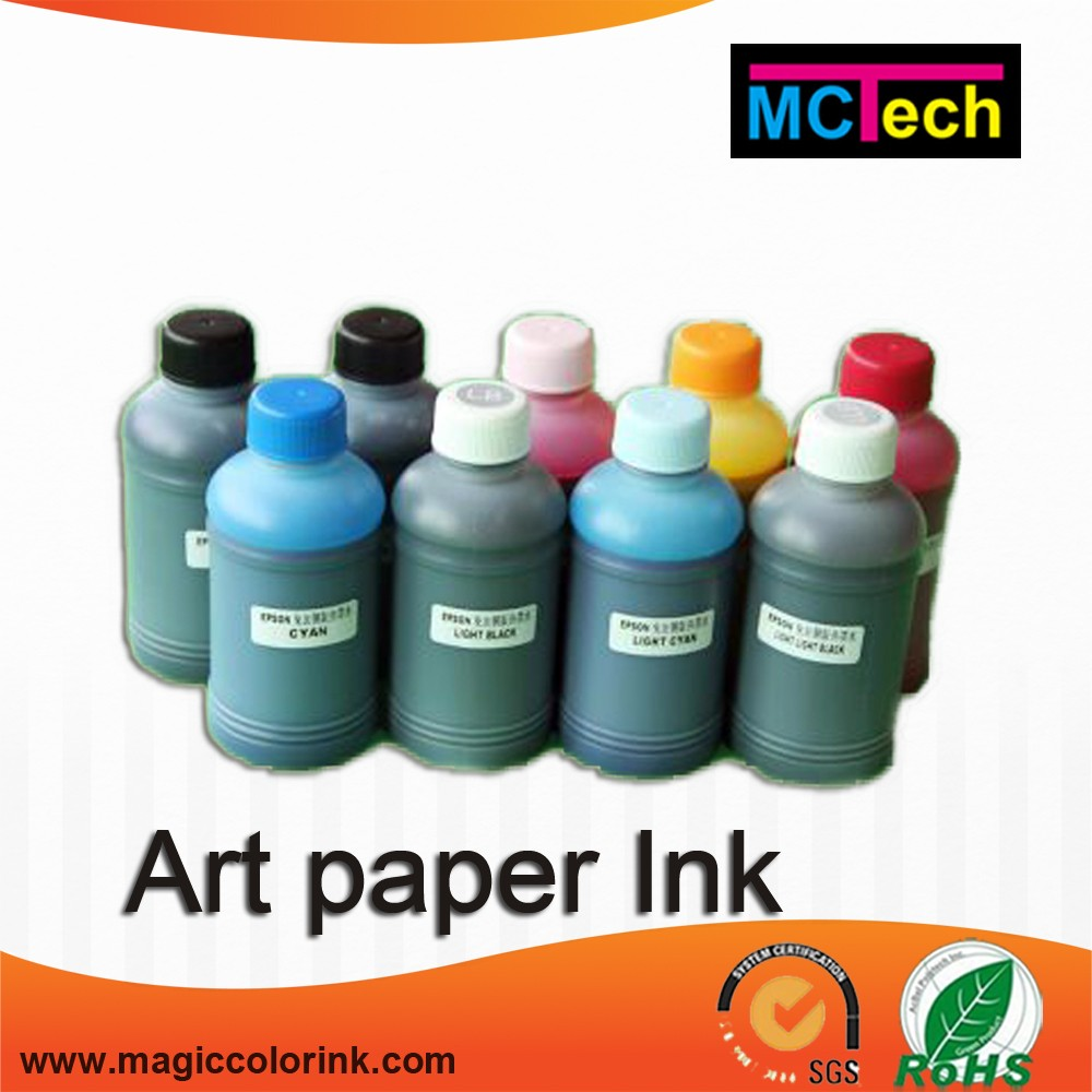 100ml Art Paper Pigment Ink for epson r2400