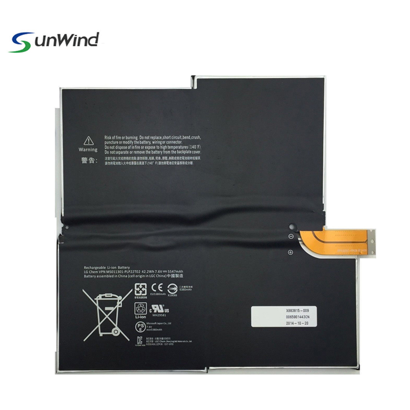 Shenzhen Sunwind Replacement MS011301-PLP22T02 Tablet Battery for Microsoft Surface Pro 3 1577-9700 G3HTA009H