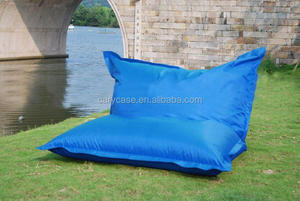 Backsupport FOLDED UP bean bag chair in large size