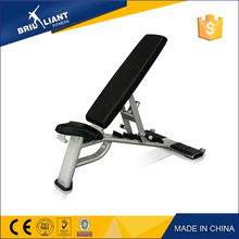 China 2017 Hot sale adjustable bench with wooden case