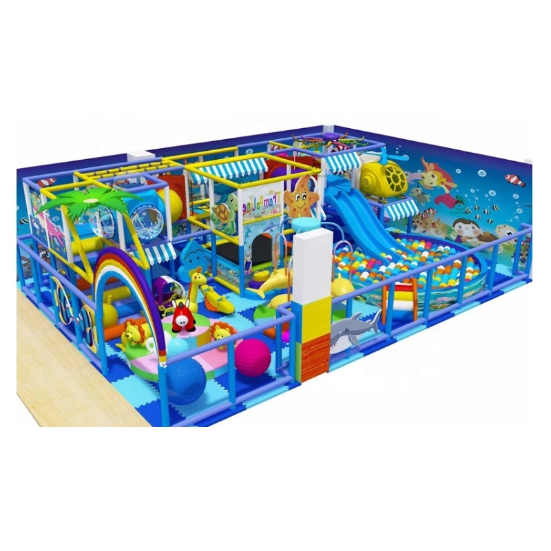 Professionelle Kinder Indoor Soft Play Spiel Playground Equipment Supplier