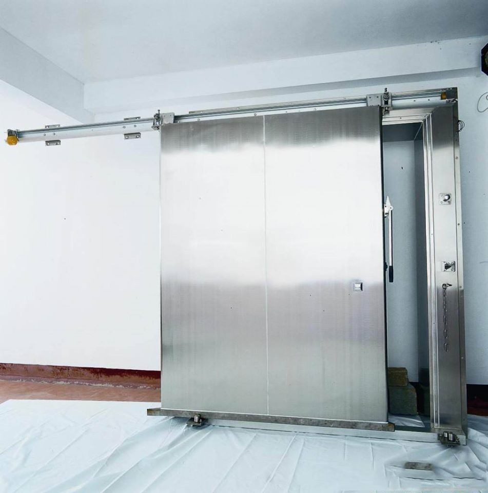 Stainless Steel Manual Sliding Cold Room Door Buy Cold