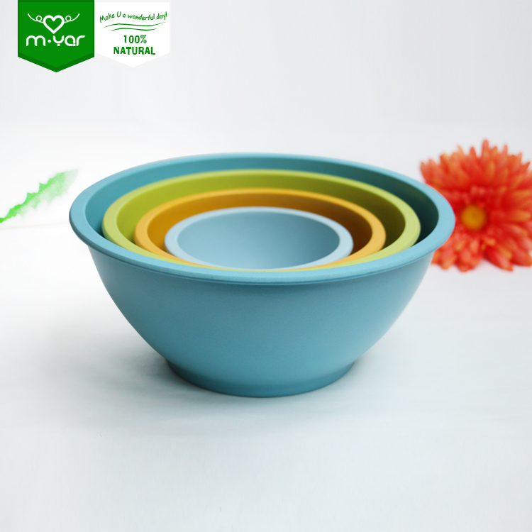 Low price bamboo fiber Thick edge bowls