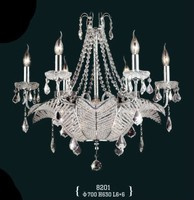 Home lighting new style high quality modern crystal indian chandeliers