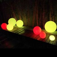 Led Glow Colorful Floating Ball light for Swimming Pool decoration