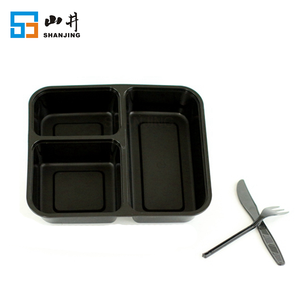 manufacturer supply bpa free stackable plastic fast food tray