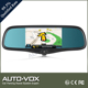 Car rearview mirror monitor with Bluetooth,GPS ,reversing camera