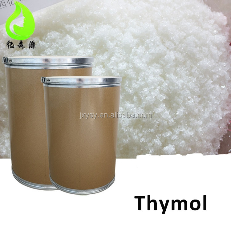 High quality Thymol Crystal with Factory Best Wholesale Price Raw Material for Spices Medicines Flavor