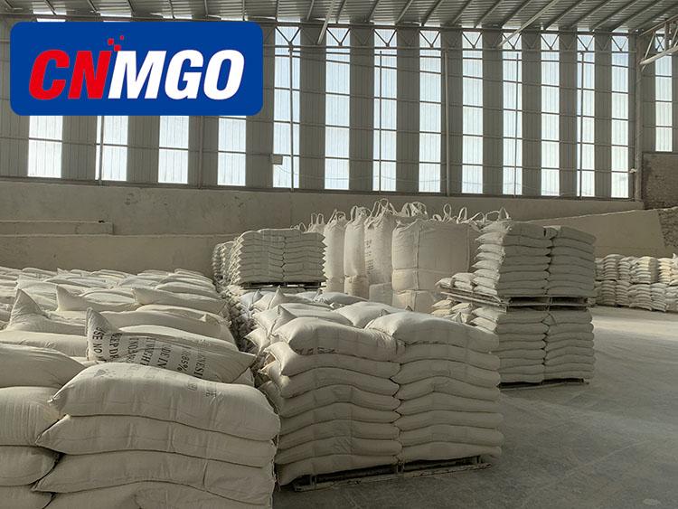 Bijtende Gebrand Manesite Magnesium Oxide CCM Poeder 65%, 70%, 75%, 80%, 85%, 88%, 90%, 92%, 94%, 200 mesh poeder