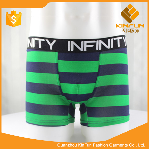 Breathable yarn dyeing strip cotton orthopedic underwear