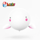 lovely robot drone 2.4g remote control ufo flying saucer safe rc helium balloon toy for kids gift