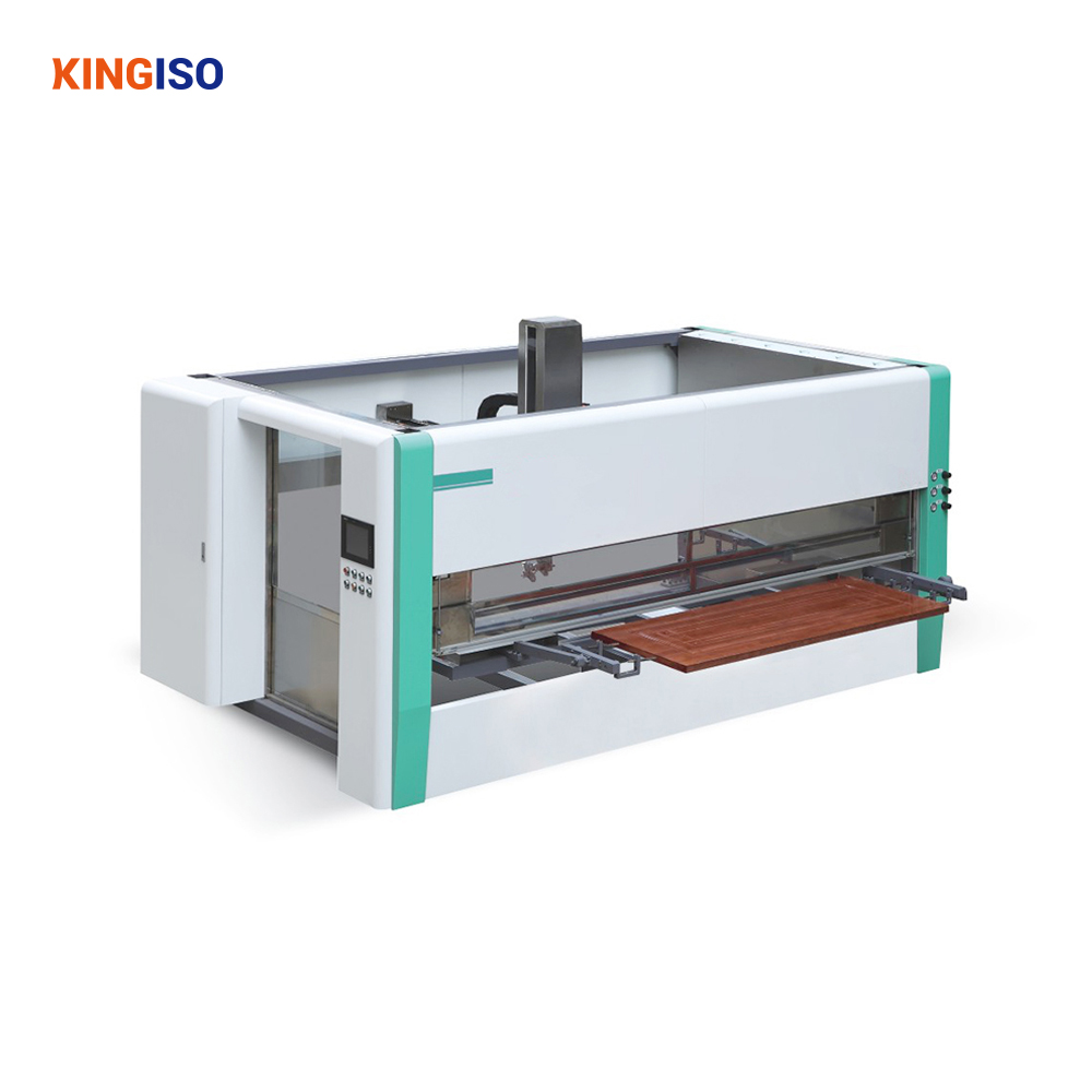 CNC wood painting spraying machine for wooden door