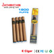 wholesale China 2017 hot selling soft tip disposable e cigar cuban disposable electronic cigars with 1800 puffs