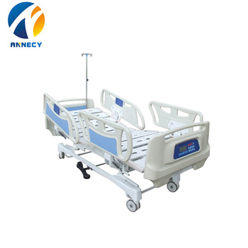 AC-EB045 5 functions Low price semi electric hospital bed for hire making in china