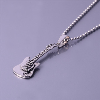 Music style custom silver guitar design jewelry maker beautiful music style custom silver guitar design jewelry maker beautiful pendants necklace aloadofball Choice Image