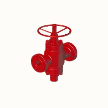 Api standard mud gate valves choke valves with pretty price