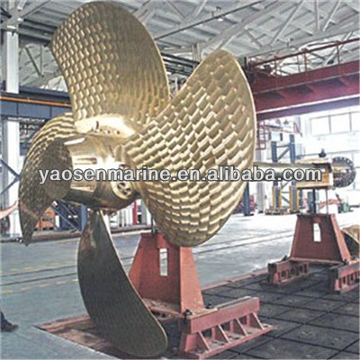 Ship use controllable pitch propeller