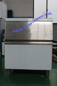 China industrial ice cube making machine refrigeration machinery used for bakery trade shows maquina cubos hielo