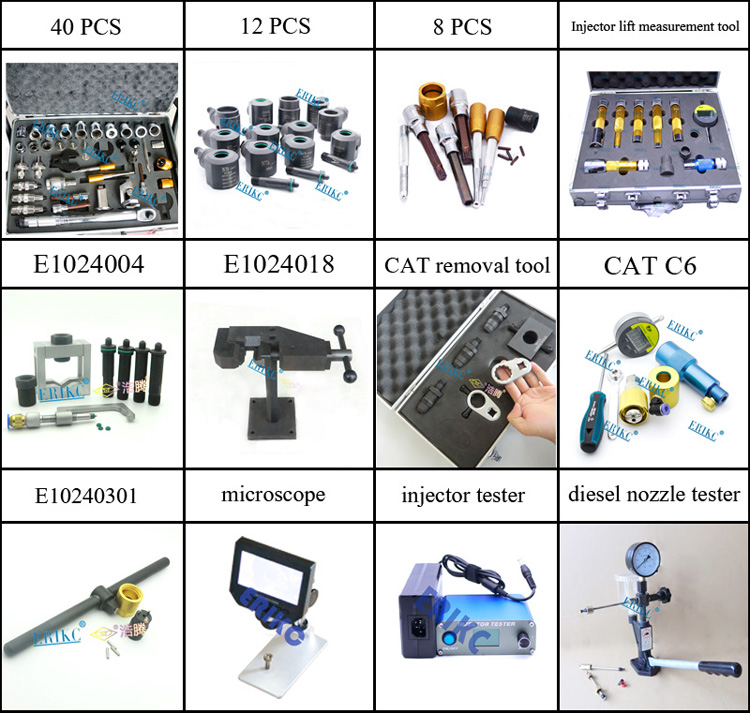 universal diesel truck diagnostic tool and universal FIX injector ERIKC tools for fuel injector