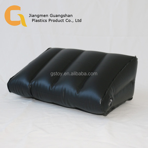 Hot selling bedroom inflatable plastic wedge pillow