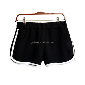 Simple design comfortable blank shorts/custom wholesale women booty shorts/sport wear wholesale gym shorts