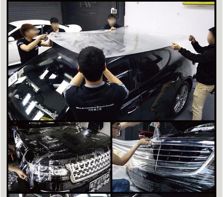 1.52*15m High Clear PPF PVC Film Car Paint Protection