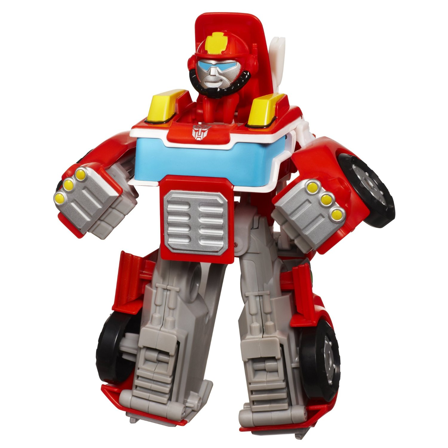 Get Quotations · Transformers Rescue Bots Playskool Heroes Heatwave The  Fire Bot Figure