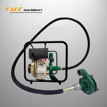 portable diesel generator self-priming sewage pump with low price
