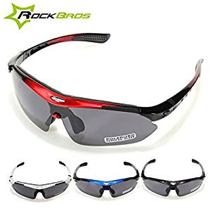 17ce81ffaf Get Quotations · (Random Color) RockBros Polarized Cycling Bike Bicycle  Sunglasses Glasses Goggles   The most POPULAR